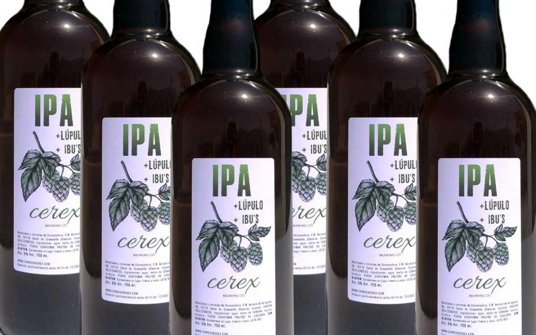 Presentamos Cerex IPA, la cerveza del verano