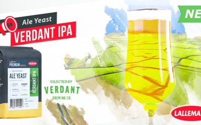 Technical information and purchase options for LalBrew® Verdant IPA is available on our product page, brewing@lallemand.com
