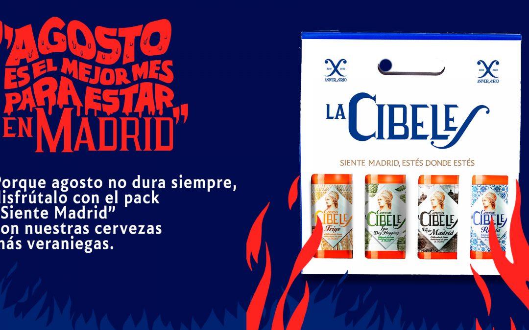 LA CIBELES CELEBRA LAS FIESTAS DE AGOSTO CON LOS MADRILEÑOS QUE SE QUEDAN EN MADRID