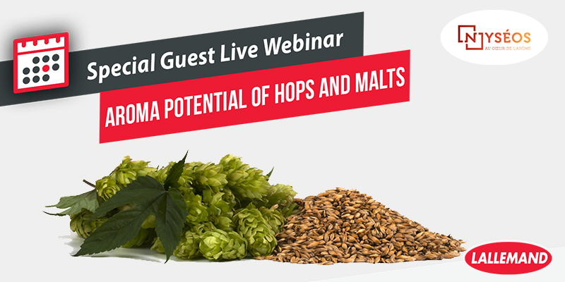 AROMA POTENTIAL IN HOPS AND MALTS