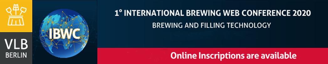 IBWC: Primera Conferencia Internacional Cervecera Web de VLB / 01 al 03 de Diciembre 2020