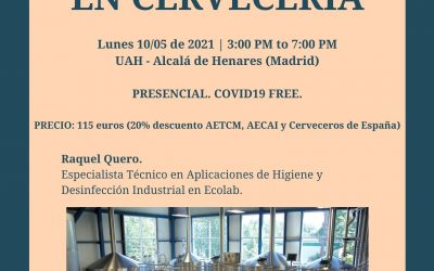 Seminario de CIP y Detergencias en Cervecería – ESCYM