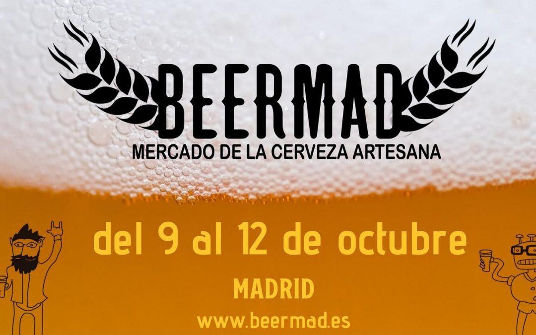Beermad – Mercado de la Cerveza Artesana de Madrid – 9 a 12 octubre