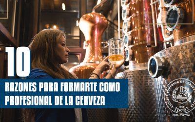 """Noticias de ESCYM – """"Cursos de cerveza: 10 razones para formarte como cervecero"""""""